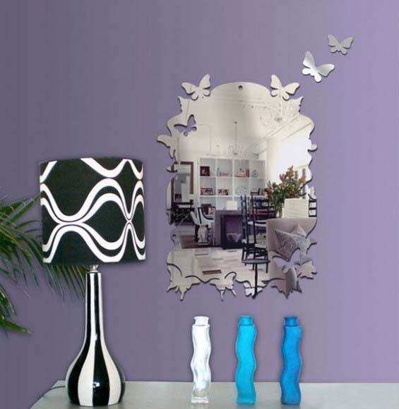 Mirror Wall Stickers Bright Ideas for Room Decorating