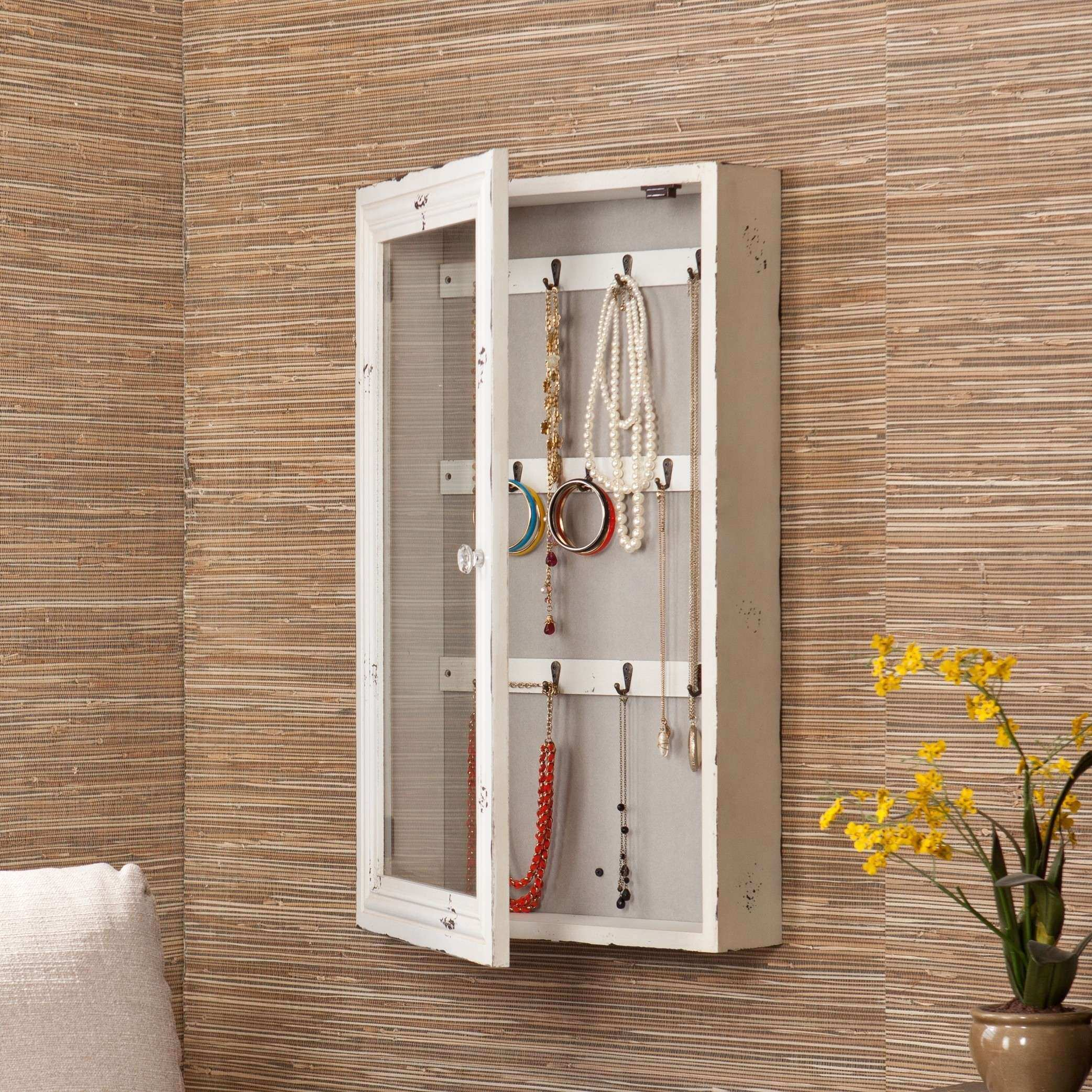 Wall Mount Jewelry Box Picture Frame Elegant Simple Wall Mount