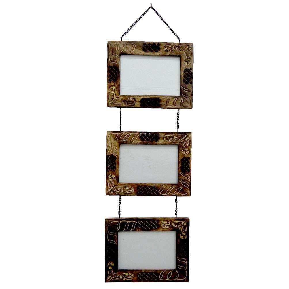 Decorative Handmade Wood Wooden Picture Frame Wall