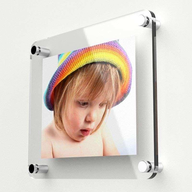 Modern Thick Perspex Acrylic Wall Mounted Picture