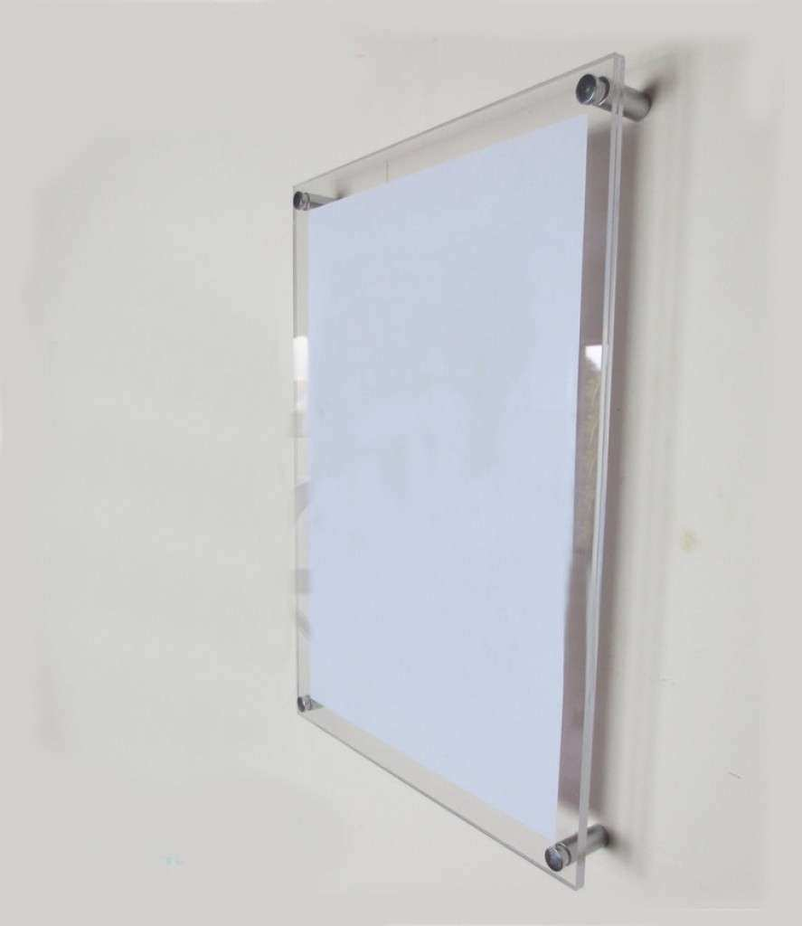 Frameless Wall Mounted Acrylic Picture Frames Gallery