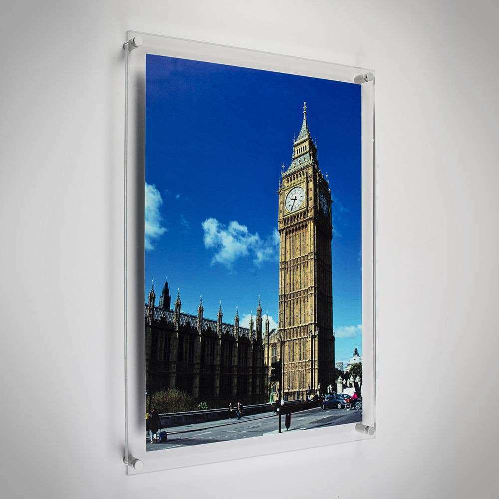 Modern Acrylic Picture & Frames Wall Mounted 12x10
