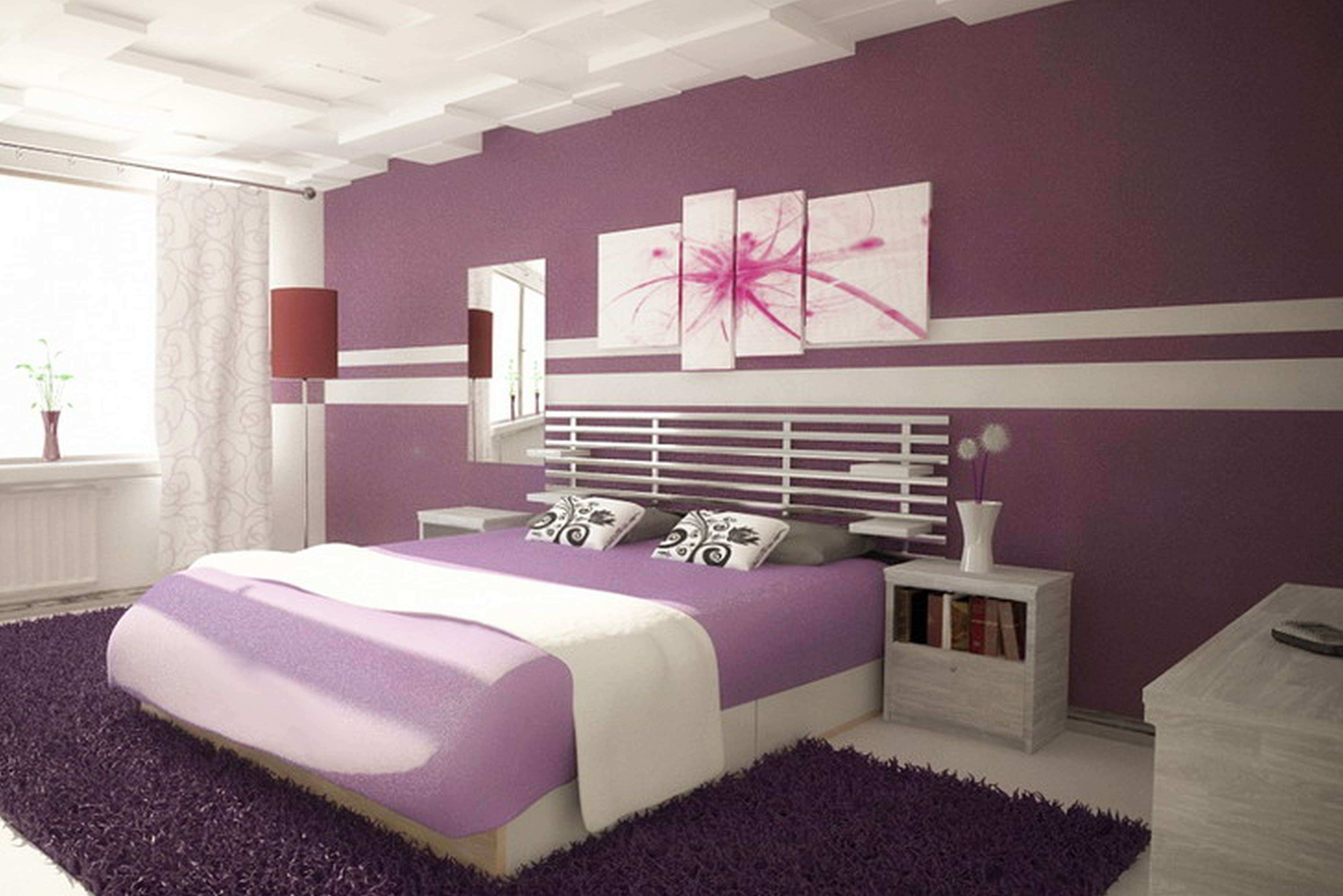 Paint Designs For Bedroom Engaging Paint Designs For Bedroom