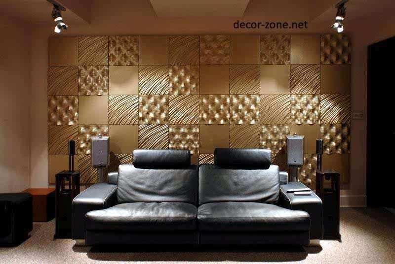 Wall Panel Decor New 3d Wall Panels Ideas Materials and Installation ...