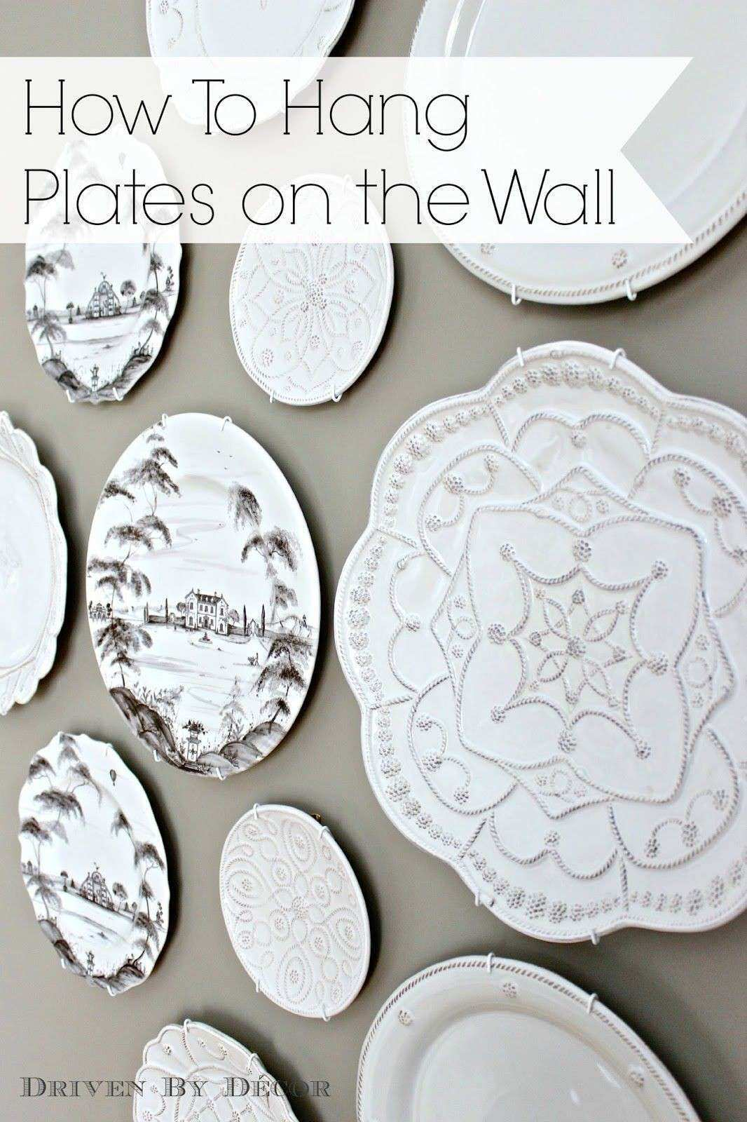 Wall Plate Decor Beautiful the Easy How to for Hanging Plates On the Wall