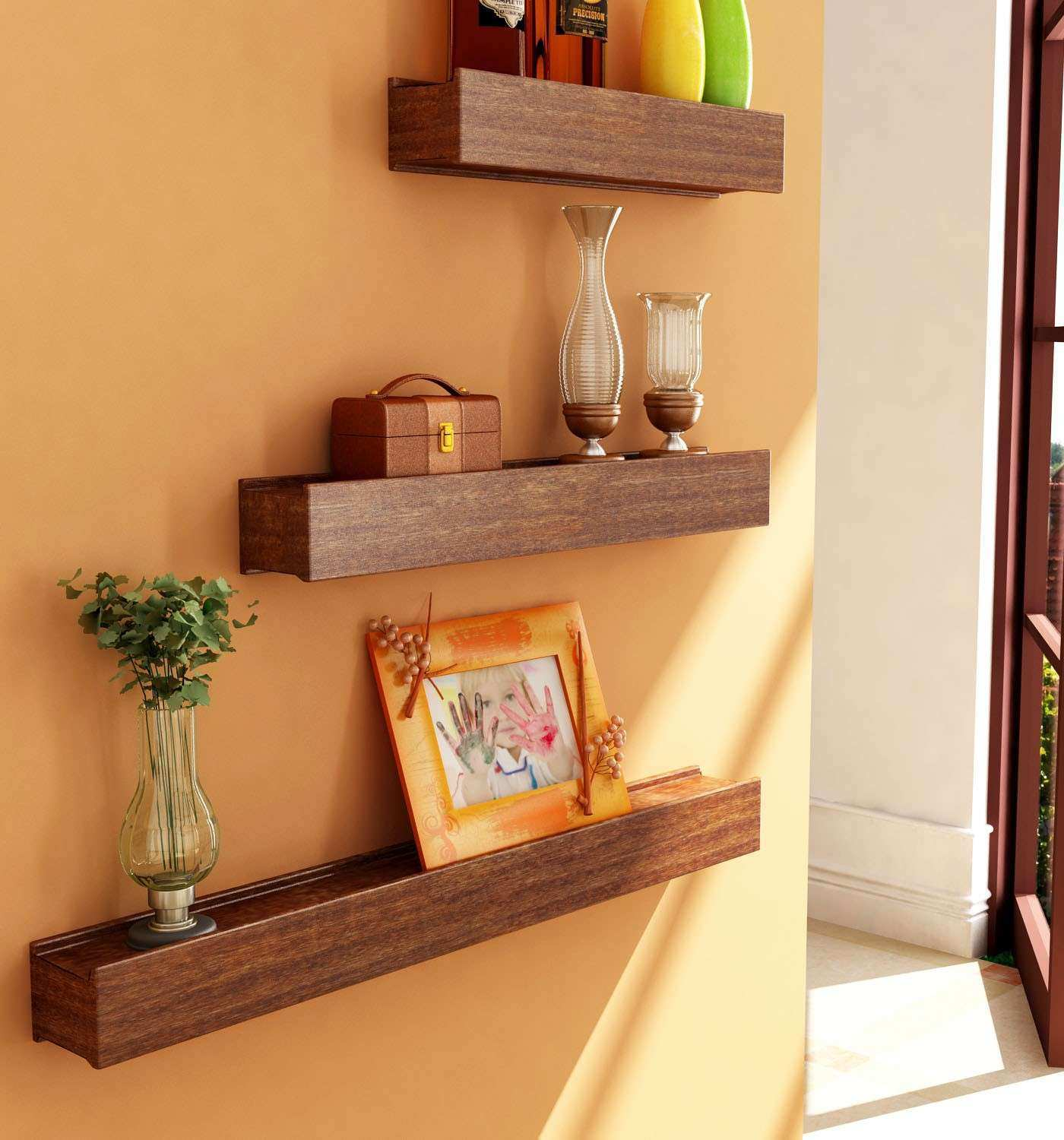 Wall Shelves Decor Awesome Diy Wall Art For Living Room