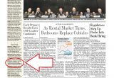 Wall Street Journal Print Lovely Front Page Climate Story Cast to Bottom Sidebar Wall