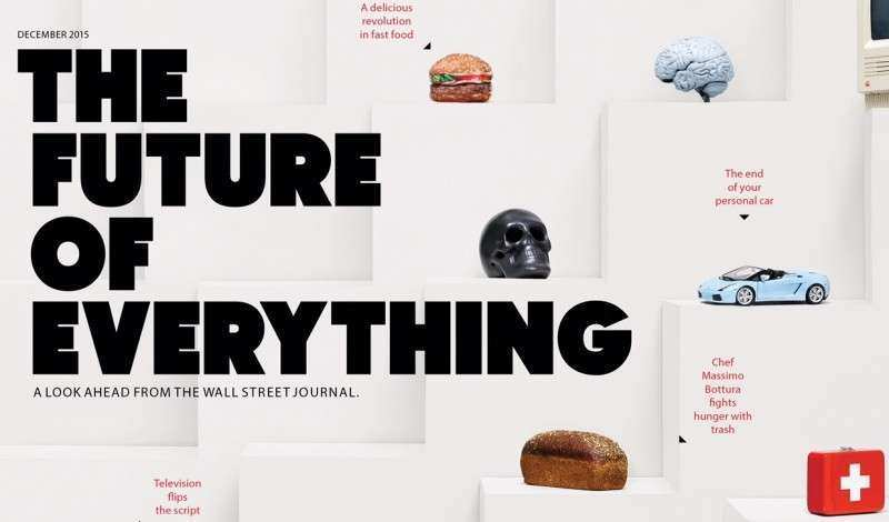 The Wall Street Journal Introduces New Print Magazine The