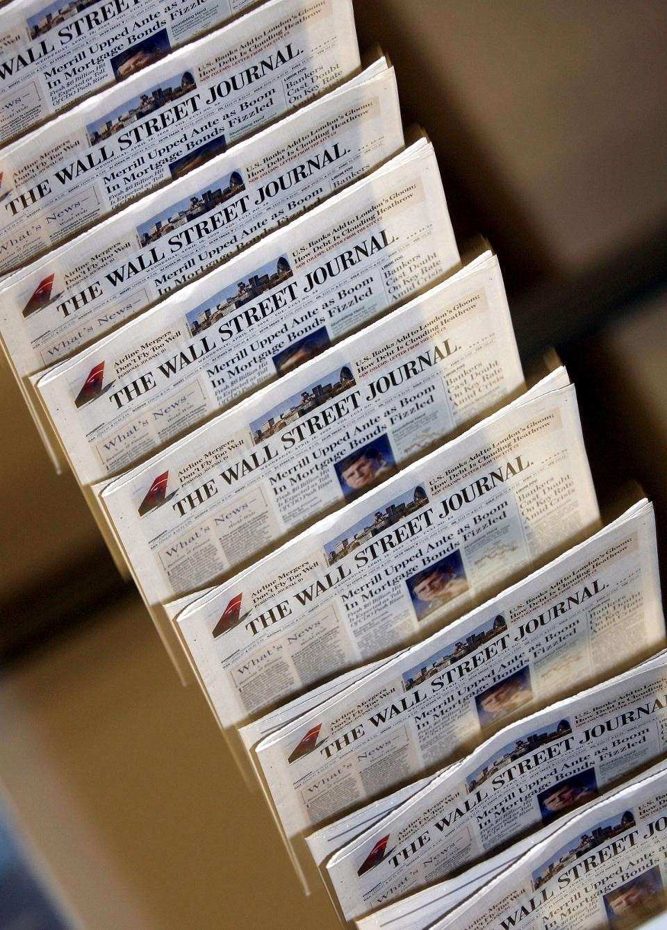 Wall Street Journal To End Print Editions In Europe Asia