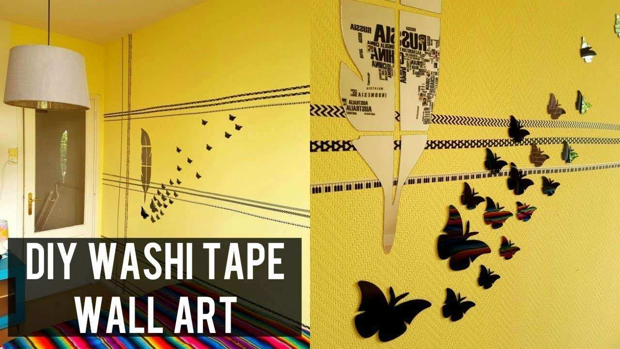 Fine Removable Decorative Wall Tape Model - Art & Wall Decor ...