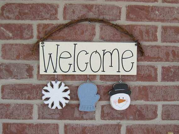 Monthly WEL E SIGN JANUARY for wall and home decor