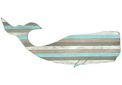 Pallet Moby Whale Wall Art