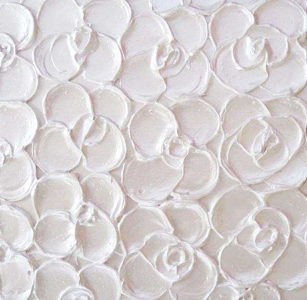 White and Silver Wall Decor Lovely Custom Art Abstract Paintings Metallic Sculpted Wall Decor