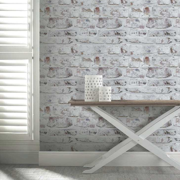 How to whitewash brick walls – striking white brick wall ideas