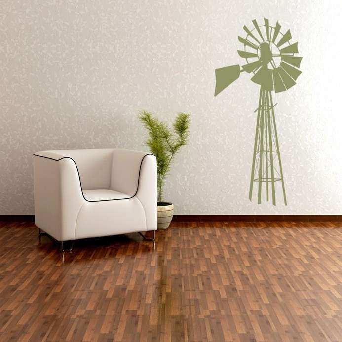 Windmill Wall Decor Windmill Wall Art Windmill Decal