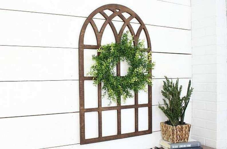 Window Frame Wall Decor Lovely Pane Farmhouse Modern Rustic