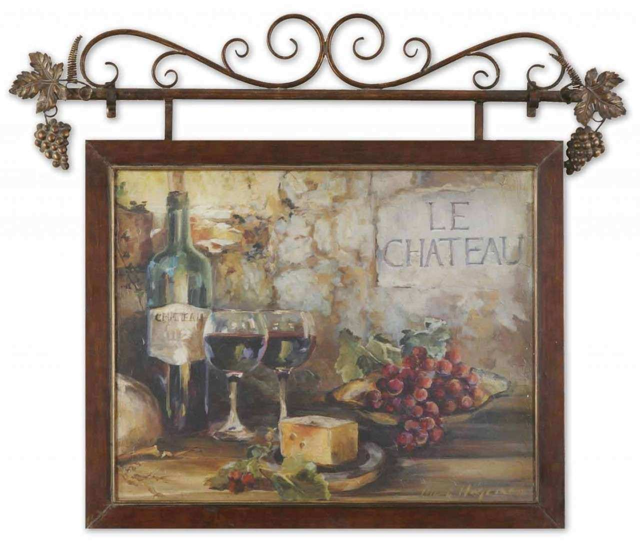 Wine Wall Decor for Kitchen Lovely Pizzazz Home Decor Unique Home Decor Old World French