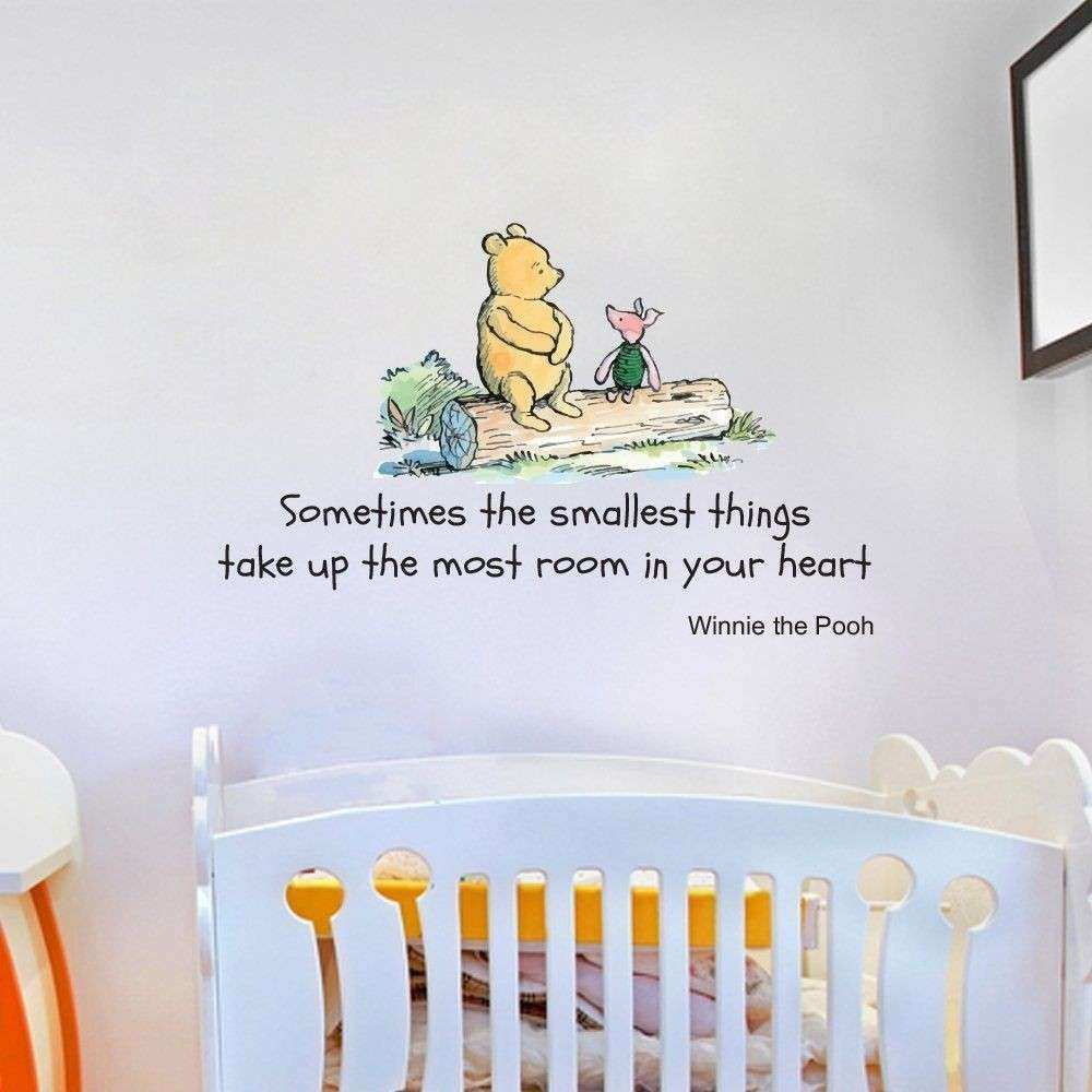 Disney Winnie the Pooh Quote Wall Sticker Decal