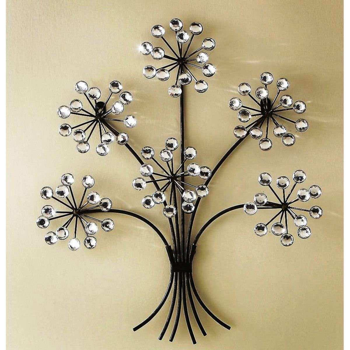 Famous Brass Metal Wall Decor Ornament - Wall Art Collections ...