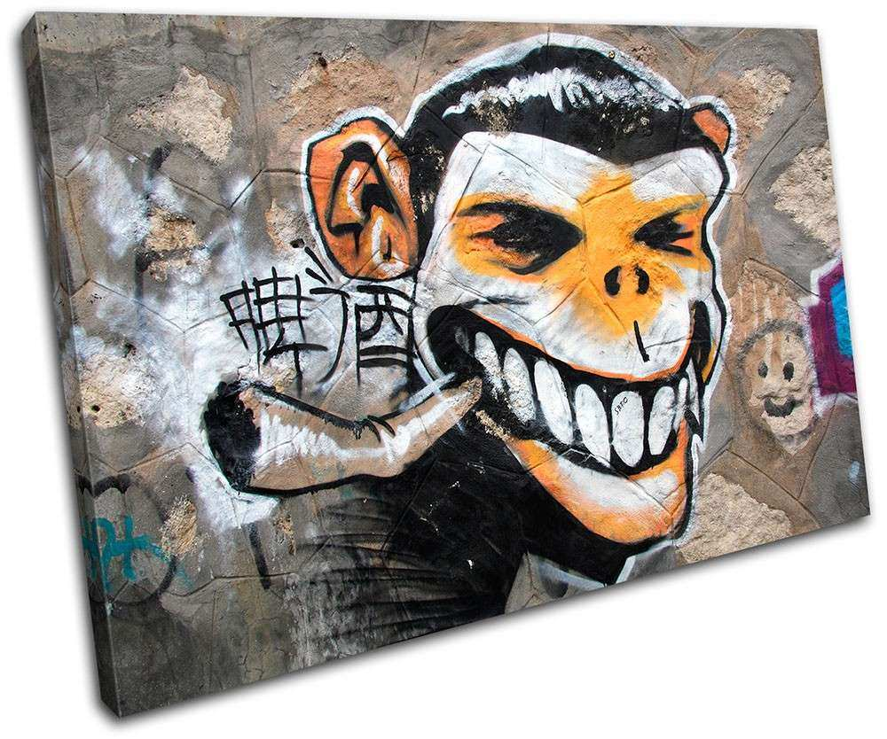 Graffiti Canvas Art Graffiti Art