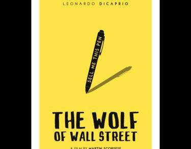 """Wolf Of Wall Street Canvas Art Fresh """"the Wolf Wall Street Film Poster"""" Stickers by"""