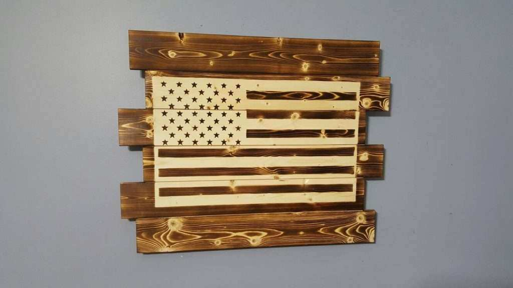 Pretty American Flag Wall Art Images - Wall Art Design ...