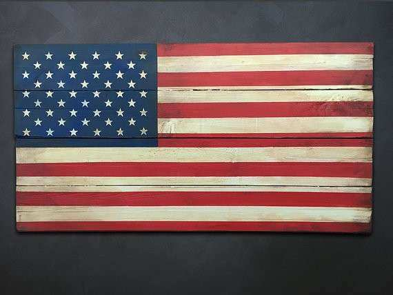 Wood American Flag Wall Decor Unique Items Similar To U S Flag Wood Wall Art  Patriotic Us
