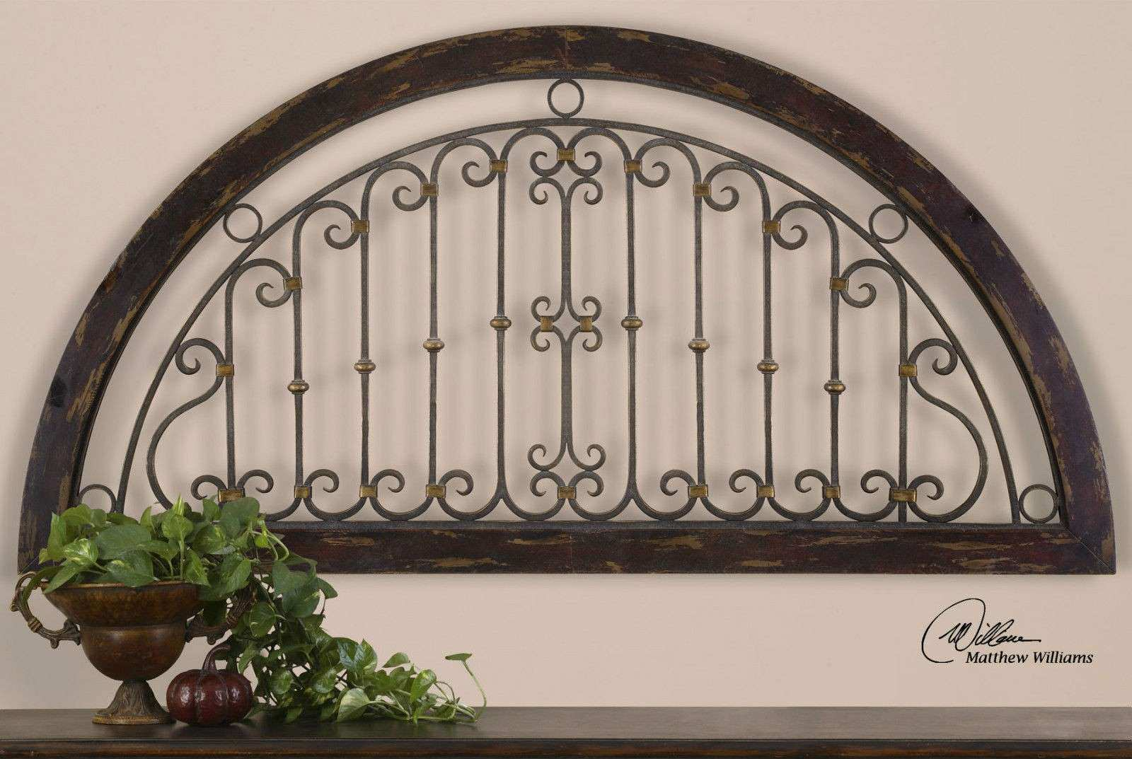 Superb Iron Wall Decor 7 Rustic Wood Wall Art Metal