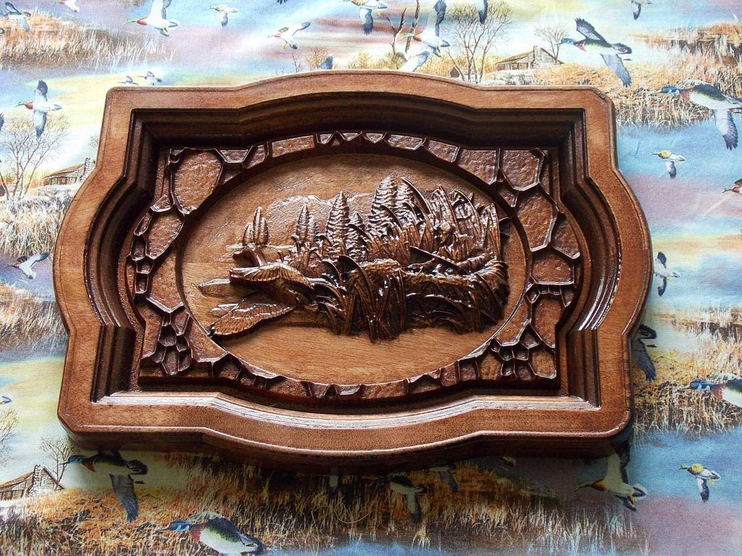 Home Design Wooden Wall Carving Panel Indian Style