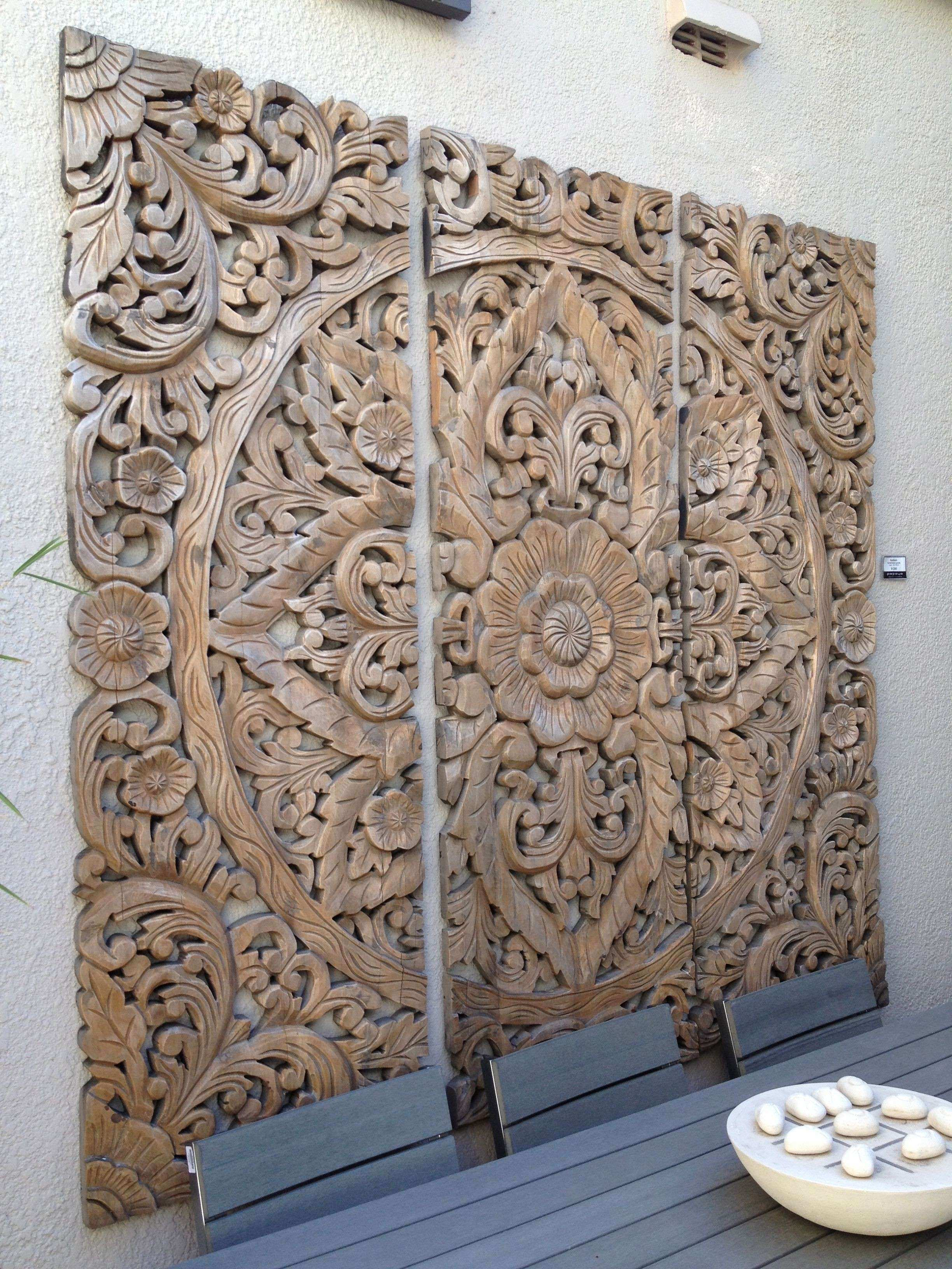 Love these Balinese wood carvings Would make a great