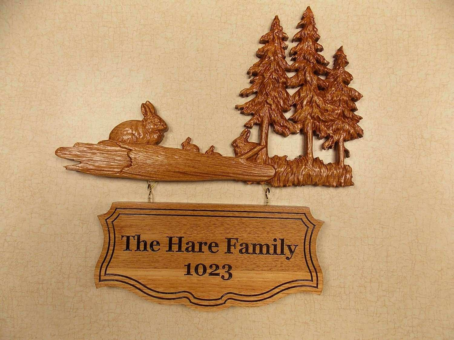 Wood Family Wall Art Lovely Custom Wooden Signs Family Name Sign ...