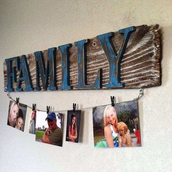 Reclaimed wood signs Wood signs and Clotheslines on Pinterest