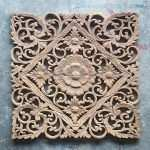 Wood Panel Wall Art Decor Lovely Lotus Carved Wood Wall Art Panel From Bali Siam Sawadee Of Wood Panel Wall Art Decor