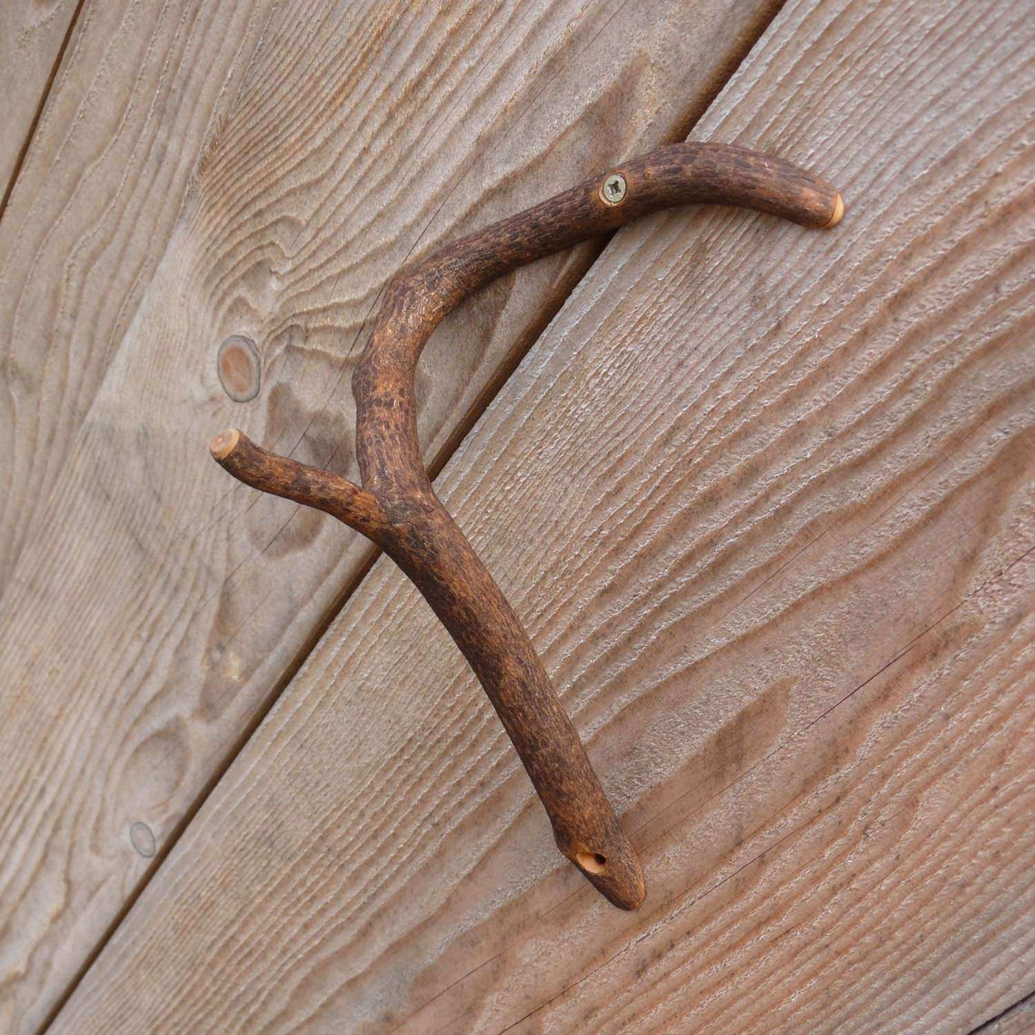 Wooden tree Branch Hook Rustic Home Decor Branch Wall