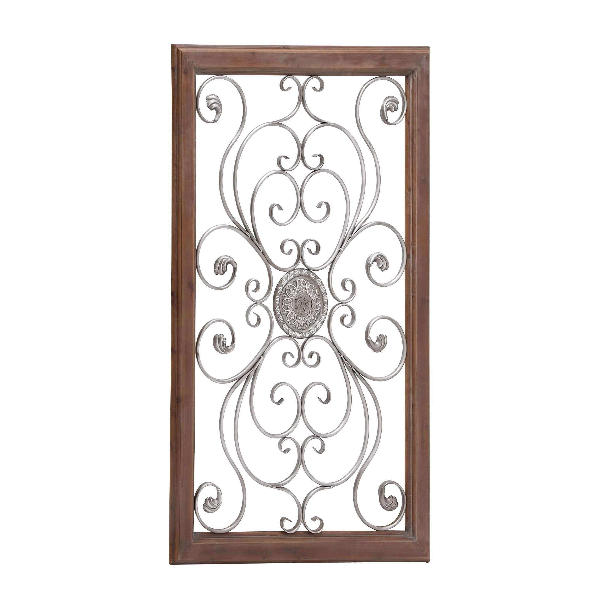 Woodland Imports Metal & Wood Wall Décor & Reviews