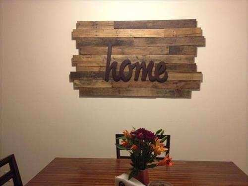 Good Wooden Pallet Wall Decor Inspirational Easy Wood Pallet Sign