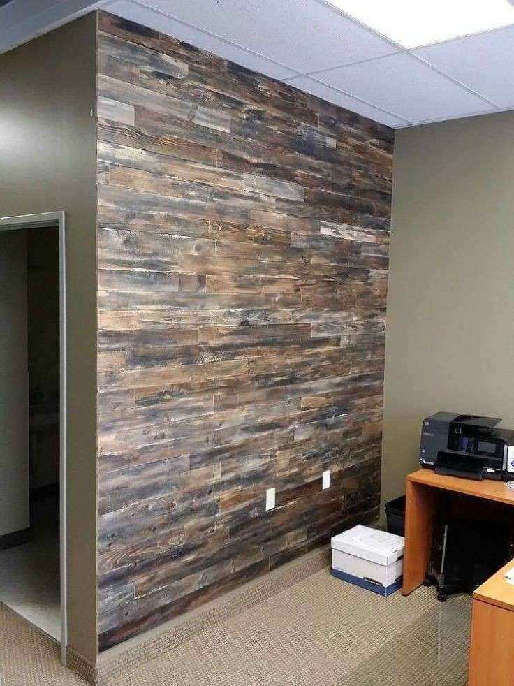Wooden Pallet Wall Decor Lovely Accent Wall Made With Pallet Wood