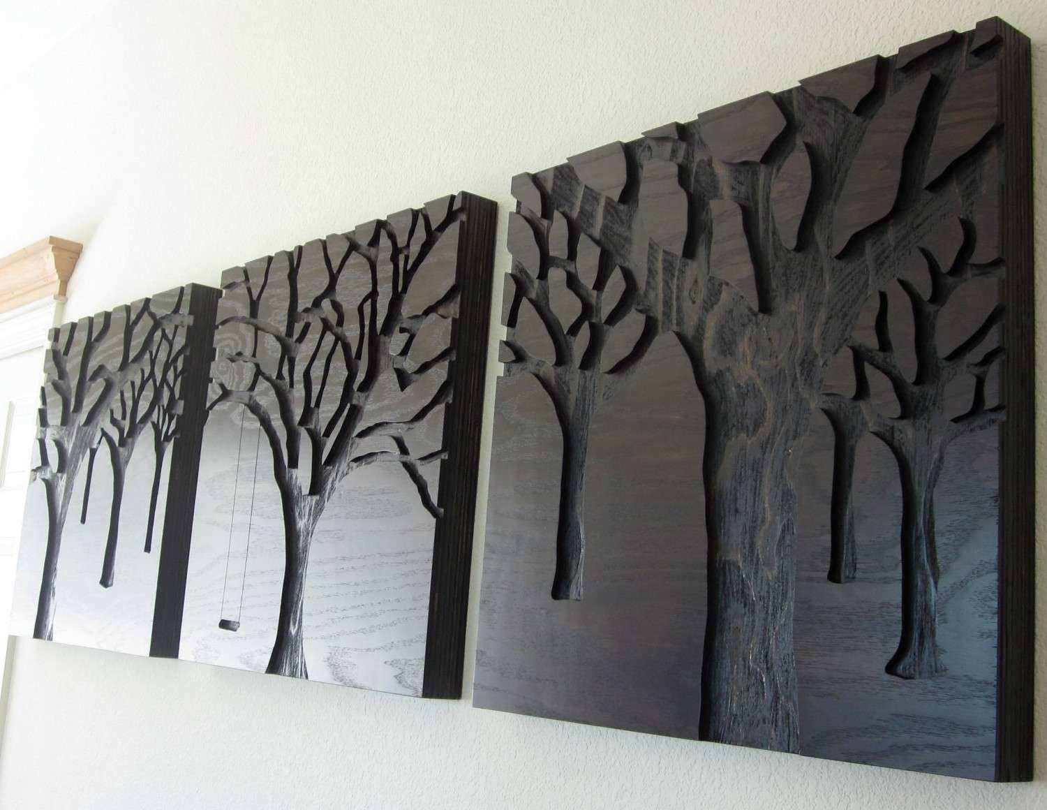 Home Design 89 Charming Wooden Wall Arts