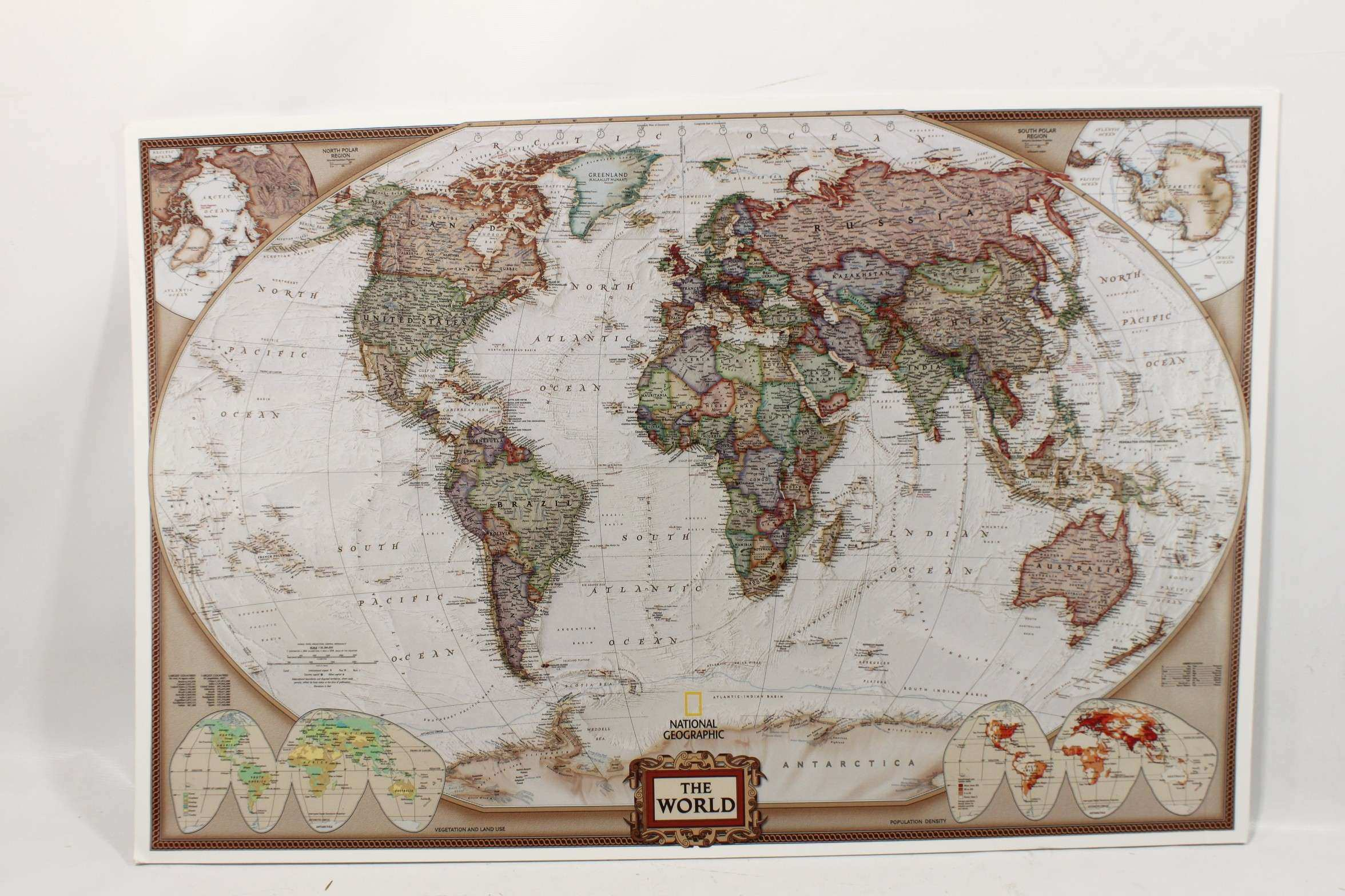 Framed World Map Art besttabletfor