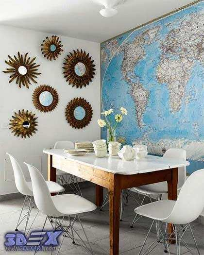 World map wall decor awesome how to make world map decor and art for world map wall decor awesome how to make world map decor and art for your interior gumiabroncs Images
