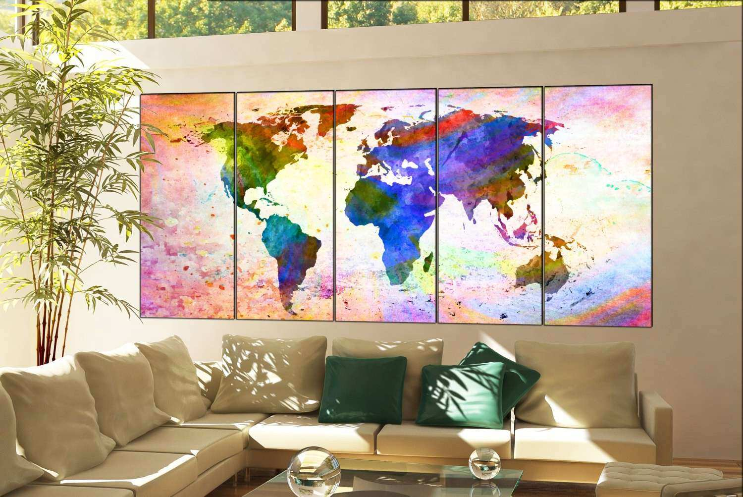 world map wall decor fresh wall art world map print on canvas wall art wall art