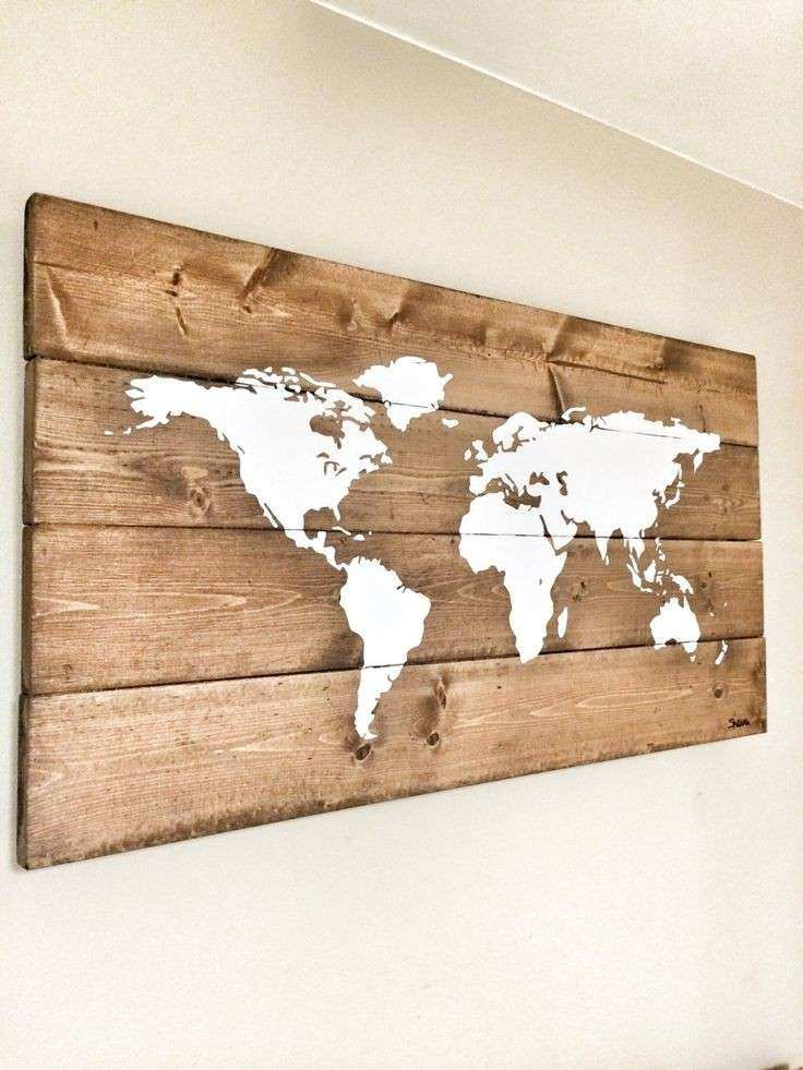 Best 25 World map wall decor ideas on Pinterest