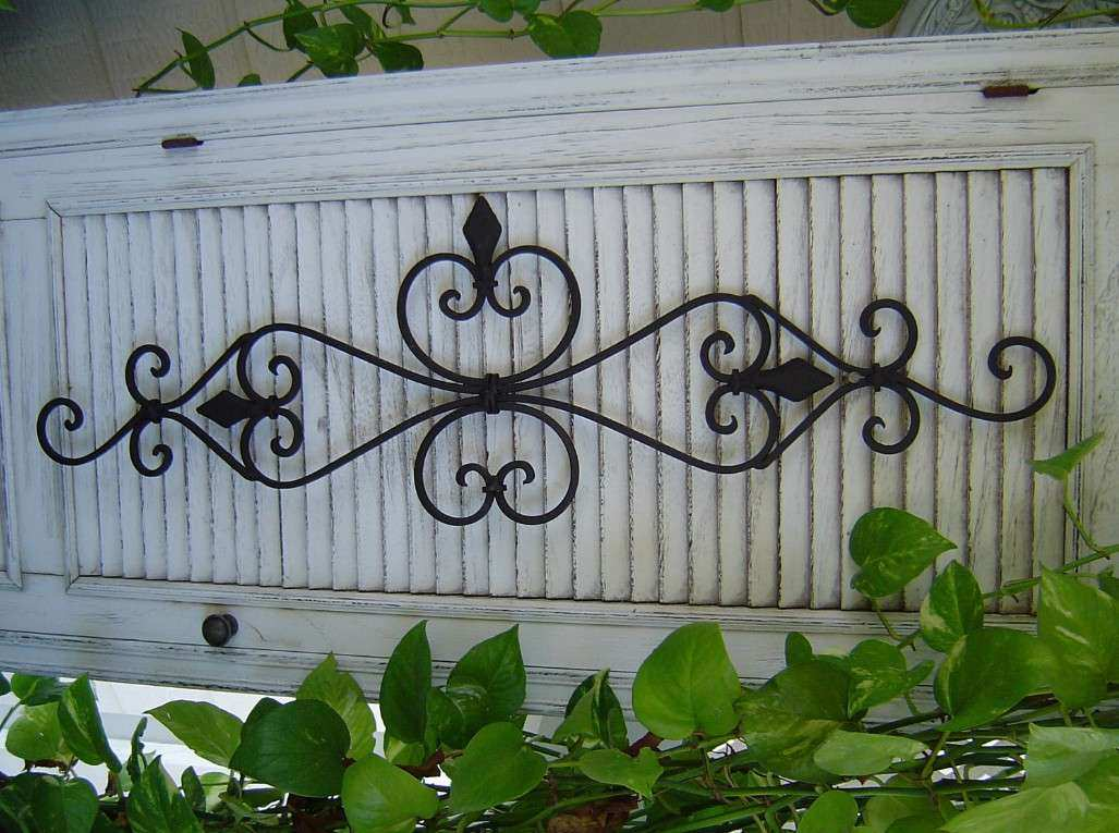 Wrought Iron Garden Wall Art Inspirational Decor Outdoor The Reflection Of Your