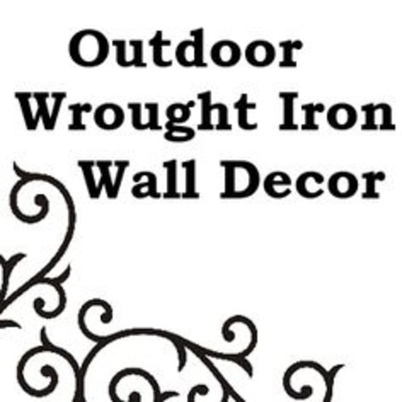 Wrought Iron Wall Decor Outdoor Wrought Iron Wall