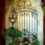 Awesome Wrought Iron Outdoor Wall Decor