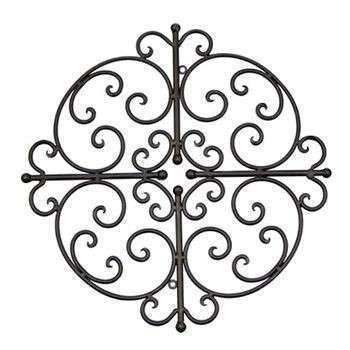 Wrought Iron Outdoor Wall Decor Unique Art Ideas