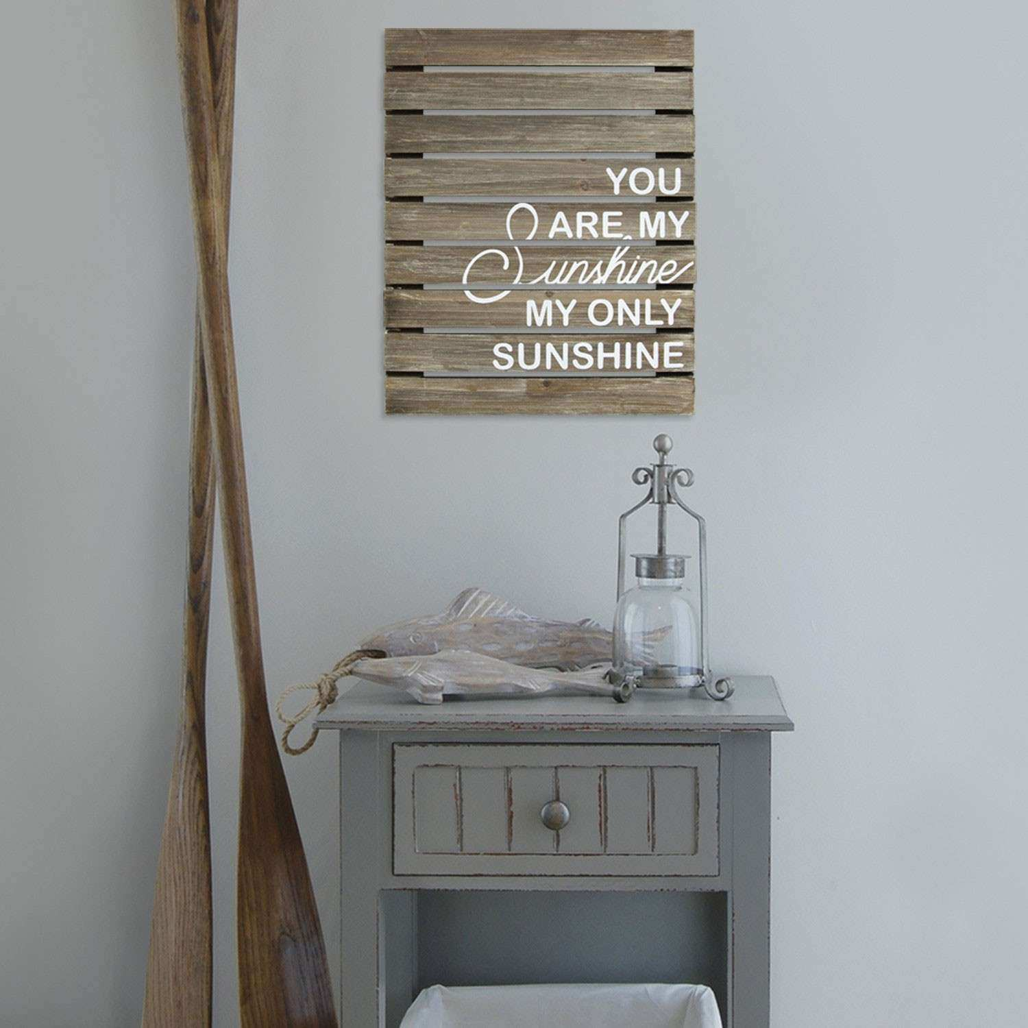 You Are My Sunshine Plank Wood Wall Decor Stratton Home