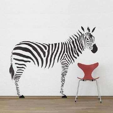Zebra print stickers for walls best of zebra wall stickers