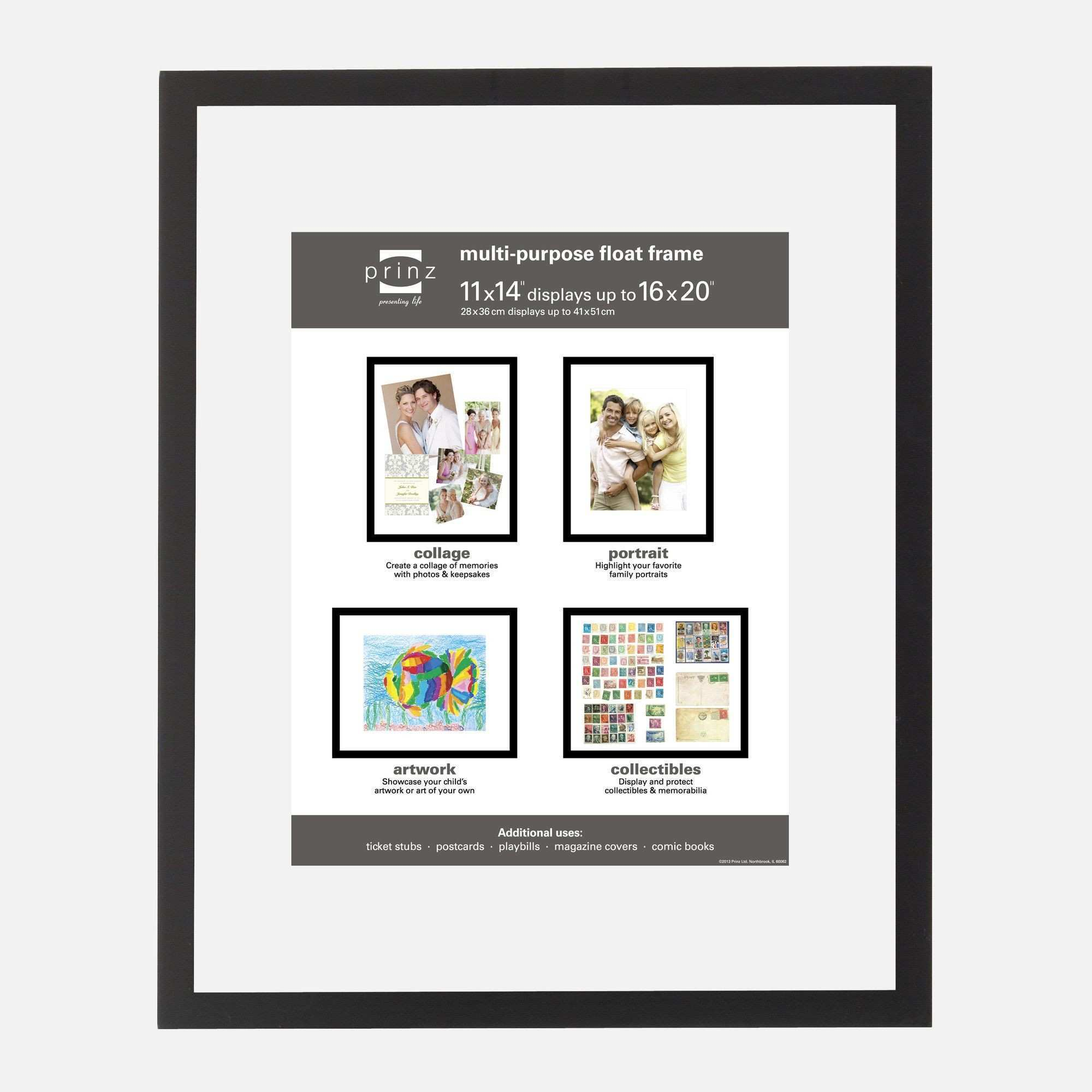 Crosby Wood Float Picture Frame Products