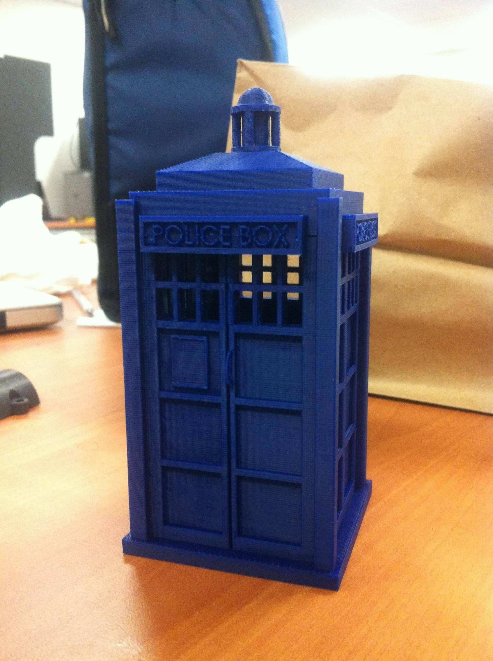DIY tiny TARDIS pendant Design Tech Project Ideas